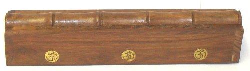Soporte para incienso de madera/Caja de humo