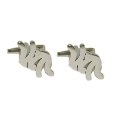 Judo Cufflinks - supplied in gift pouch (X2N107)