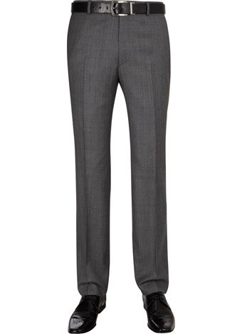 Austin Reed Contemporary Fit Grey Trousers SHORT MENS 32