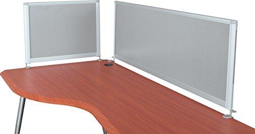 Balt iFlex Desktop Privacy Panels, Half Length, 17