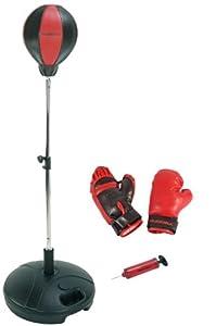 Hudora - Punching Ball avec gants de boxe et pompe