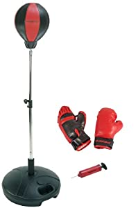 Amazon.com : Hudora Punching Ball With Boxing Gloves And Pump : Toy