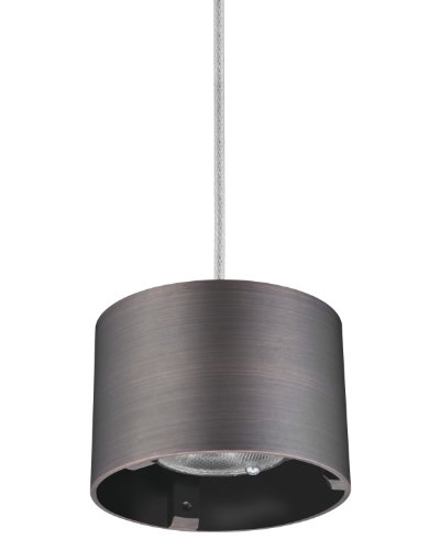 Lithonia Mdpc Bz M6 Cylinder Led Mini-Pendant Fitter, Bronze