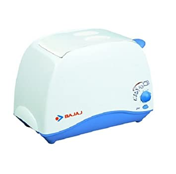 Bajaj Majesty New Easy 270028 2-Slice Pop-up Toaster (White)