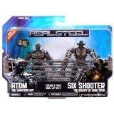 リアル・スティール 5インチアクションフィギュア バーサス2パック アトムvsシックス・シューター/Real Steel 5inch Action Figures Versus 2 Pack: Atom vs Six Shooter【並行輸入】