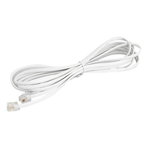 Rj11 Male To Male Connector 3 Meters Telephone Extention Cable Line