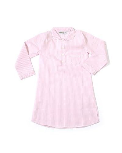 Honey Camicia da Notte Bimba Nancy [Rosa/Bianco]