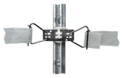 Dare Products 3115 Electric Fence Tensioner Combo For T-Posts, Corner & End, Insulated - Quantity 10