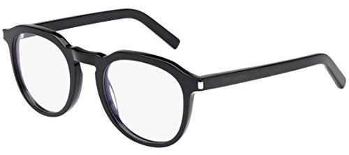 Saint Laurent - SL 52, Geometrico, acetato, uomo, BLACK(001), 50/0/0