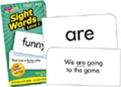 Sight Word Flash Cards Level 1
