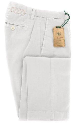 new-luigi-borrelli-light-gray-solid-pants-extra-slim-36-52