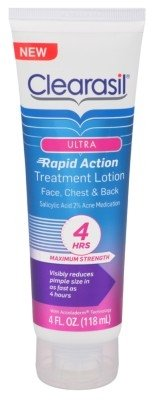 Clearasil Ultra Rapid Action Lotion Treat Max-Strength 4oz