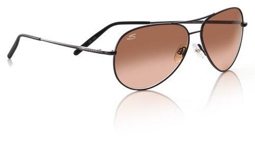 Serengeti Aviator Sunglasses Serengeti Aviators: Medium Aviator, Henna/Drivers Gradient Model 6826