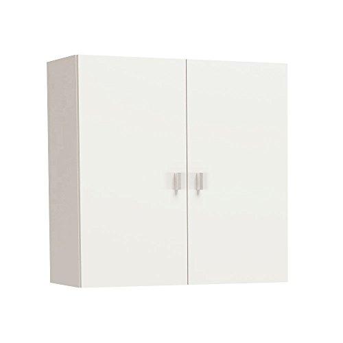 Meka-Block-K-8001-Mueble-de-colgar-con-dos-puertas-60-x-60-x-265-cm-color-blanco