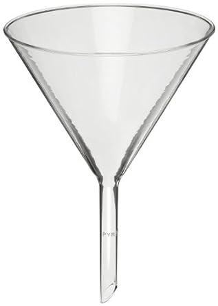Corning Pyrex Borosilicate Glass Plain 60 degree Angle