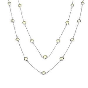 Central World Necklace with 7.65ct TW Genuine Quartz in 925 Sterling Silver-2327954 1453322 - Stylish Brand New Necklace With 7.65ctw Ge