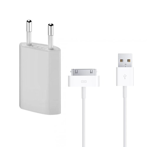 Lapinette Ladegerät + Cable USB Apple iPhone 4-4S