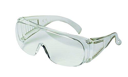 3M Visitor VS-160 Occhiali in Protezione, Trasparente, Trasparente