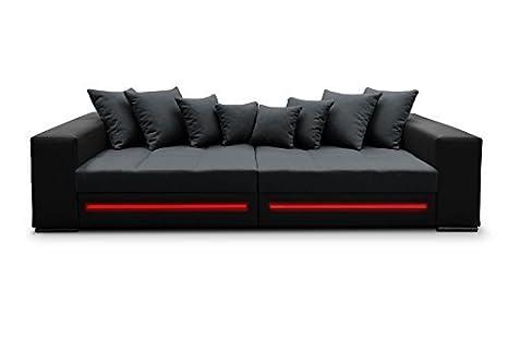 Divano da angolo zaffiro angolo per il divano Bigsofa Big XXL divano letto LED 01353