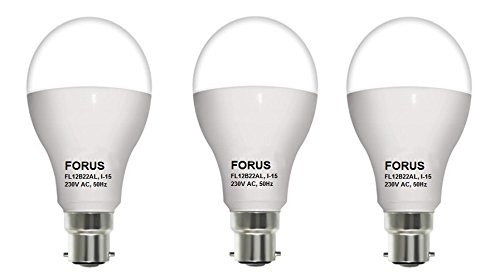 12W 1020L LED Bulb (Pack of 3)