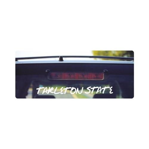 State Texans Tarleton State Graffiti Car Decal - - - - Tar Stat