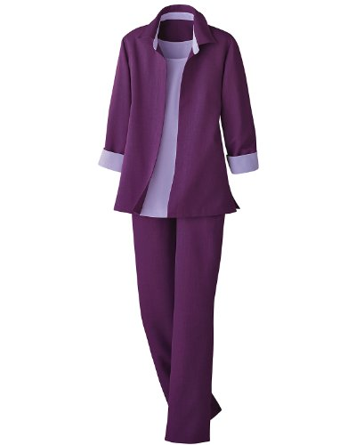 Swann 3-Piece Pants Suit