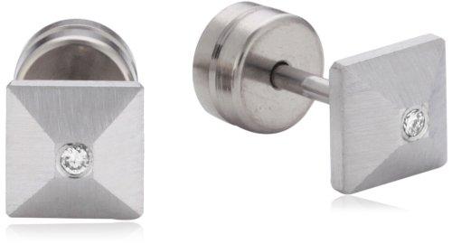 Xen Damen-Ohrstecker Edelstahl Diamant weiß 411900G0 schenken