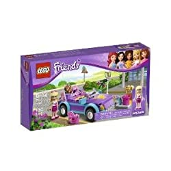Toy / Game Fabulous Lego Friends Stephanies Cool Convertible 3183 With Mp3 Player, Purse & Hair Accessory Pack