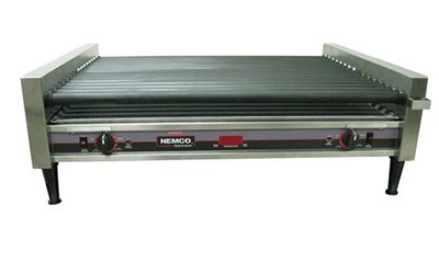 Nemco 8050Sx-Rc 50 Hot Dog Roller Grill - Flat Top, 120V, Each