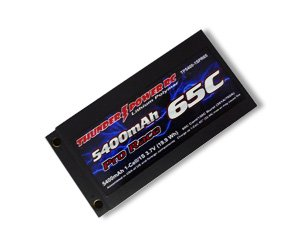 5400mAH 1S 3.7V G6 Pro Race 65C with Case, Bullet