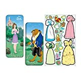 Disney Princess Beauty & the Beast Magnetic Paper Dolls Collectors Series