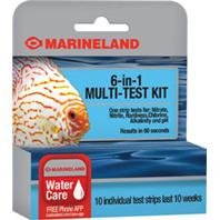 Marineland ML90662-00 6-in-1 Multi-Test Kit (Chlorine Test Aquarium compare prices)