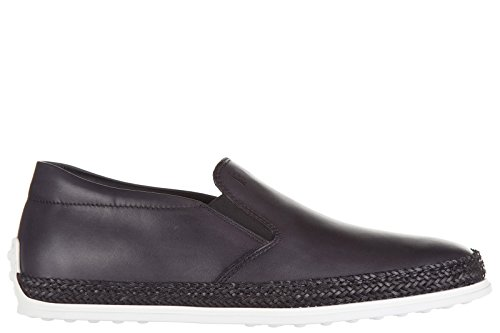 tods-mens-leather-slip-on-sneakers-grey-us-size-85-xxm0yb0k900d9cb605