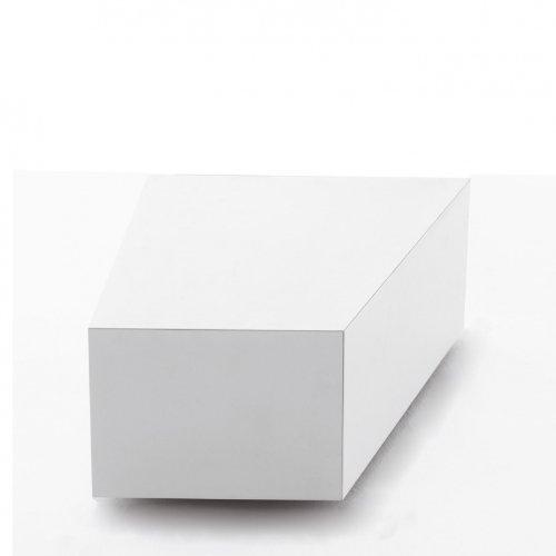 Opinion Ciatti BCK 60dxW FLAP mit Klappen, weiß lackiert 1 Innenfach, 60x50x34, H:25,5cm Kombinierbar mit BCK 60sx, BCK 90, BCK 150