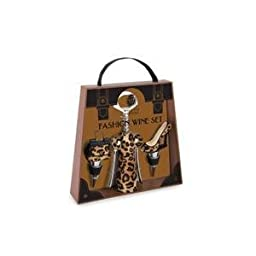 Wine Accessory Toolkit - Leopard
