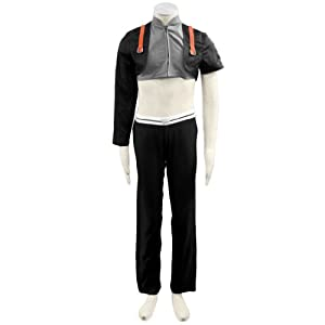 CTMWEB Japanese Anime Naruto Cosplay Costume - Sai 1st Ver Set Kid Small