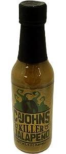 Cajohns Killer Jalapeno Hot Sauce