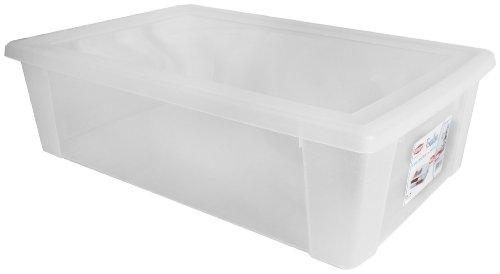 Visualbox, Scatola Multiuso XXL, 30 L, 39 x 59 x 17 cm