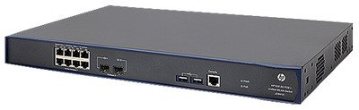 "Hp, 830 8-Port Poe+ Unified Wired-Wlan Switch Switch Managed 8 X 10/100/1000 (Poe+) + 2 X Gigabit Sfp Rack-Mountable Poe+ ""Product Category: Networking/Lan Hubs & Switches"""
