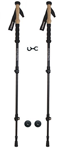 Montem Ultralight Carbon Fiber Hiking / Walking / Trekking Poles - One Pair (2 Poles) (Alpine Carbon Cork Trekking Poles compare prices)