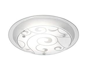 Globo Kristjana Ceiling Lamp Metal Chrome by globo