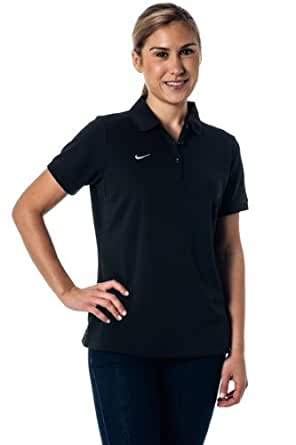 Nike Dri-Fit Moisture Wicking Women's Polo Shirt - Black XL