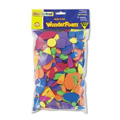 * Wonderfoam Shapes, Assorted Shapes/Colors, 720 Pieces/Pack shapes and colors наклейки