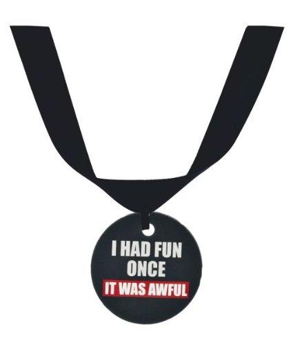 "Ganz Grumpy Cat Collar Accessory ""I Had Fun Once It Was Awful"""