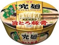 明星 究麺エボリューション 旨とろ豚骨 麺大盛&金ごま付 1ケース(12入)