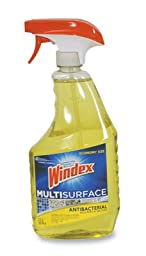 Windex Antibacterial Multi-Surface Cleaner - (26 oz .Trigger Spray) (4 Bottles) - AB-750-1-57