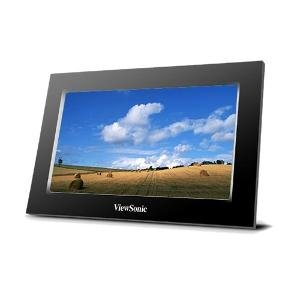 viewsonic vfa770w 50p lcd 7 in digital photo frame black
