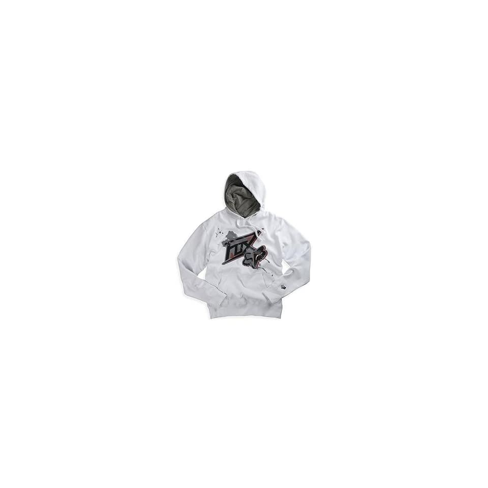 Fox Racing Acension Hoody   Large/White