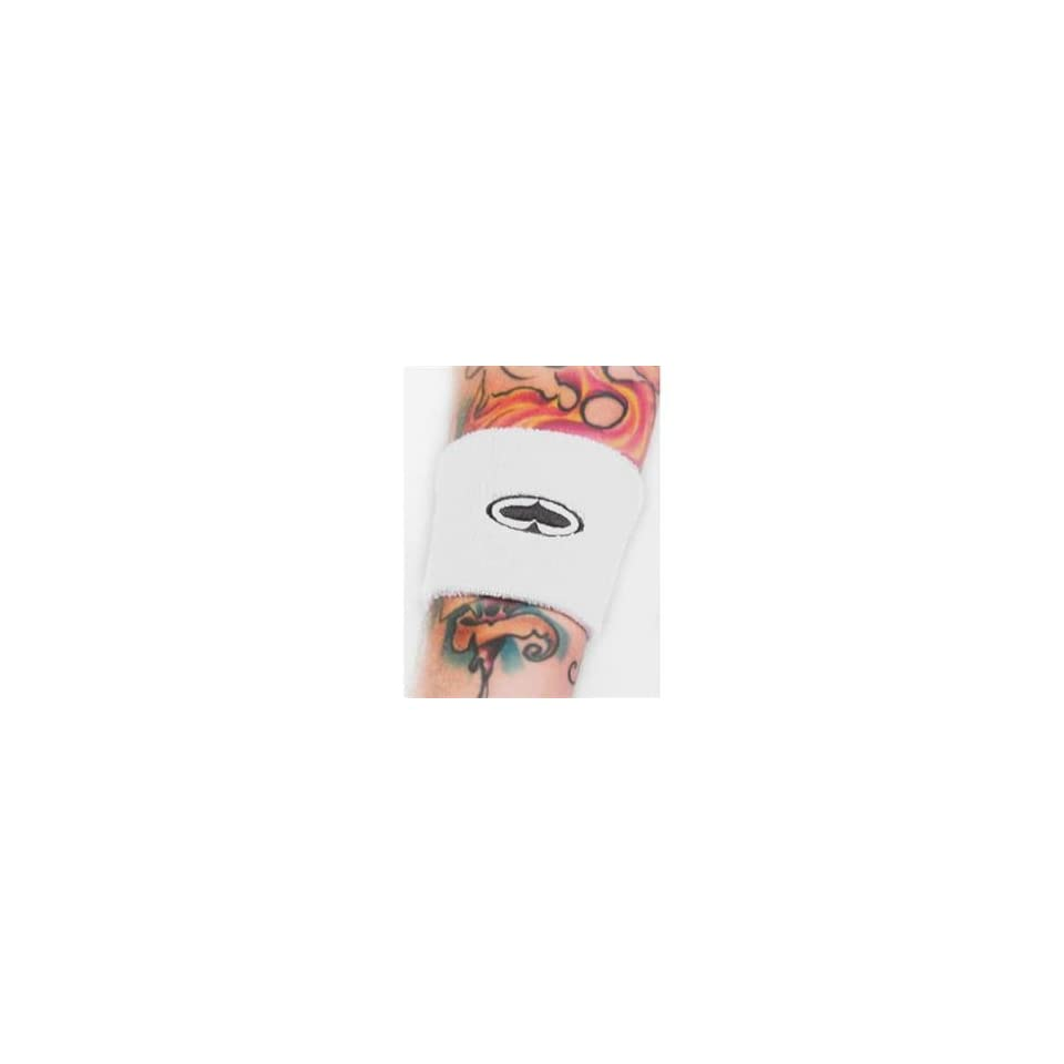SRH Spade Wristband   One size fits most/White