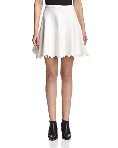 English Factory Women's Scallop Hem Skirt